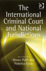 International Criminal Court and National Jurisdictions - Ashgate Publishing Group, Mauro Politi