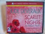 Scarlet Nights by Jude Deveraux Unabridged CD Audiobook (The Edilean Series i, book 3) - Jude Deveraux, Julia Gibson