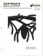 Hammer's Blow, Journal of the Artist Blacksmiths' Association of North America, Summer 2002 (Vol. 10, No. 3) - Rob Edwards, ABANA, Brian Gilbert, Dave Mudge