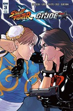 Street Fighter X G.I. Joe #3 (of 6) Chun Li vs. The Baroness Chris Evenhuis Subscription Variant Cover - Aubrey Sitterson, Emilio Laiso, Andrea DiVito