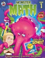 Monster Math, Grade 1 - Frank Schaffer Publications, Frank Schaffer Publications