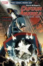 FCBD 2016: Captain America #1 (Captain America: Steve Rogers (2016-)) - Javier Garron, Nick Spencer, Dan Slott, Jesus Saiz