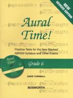 Aural Time Grade 6 Book & CD - David Turnbull