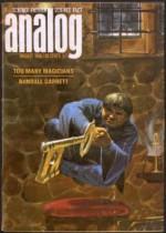 Analog Science Fiction and Fact, 1966 August (Volume LXXVII, No. 6) - Frank Herbert, Joe Poyer, Norman Spinrad, John Berryman, Bob Shaw, John W. Campbell Jr., Randall Garrett, Lyle R. Hamilton