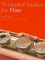 76 Graded Studies for Flute, Book 1 - Paul Harris