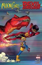 Moon Girl and Devil Dinosaur (2015-) #15 - Amy Reeder, Brandon Montclare, Amy Reeder, Natacha Bustos