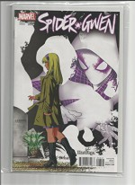 Spider-Gwen #3 Hastings connecting variant - Jason Latour, interlocks with Amazing Spider-Man #17 Hastings Variant. Police Lieutenant Frank Castle is not a man to be trifled with. His new assignment? GET SPIDER-GWEN. Hastings Connecting Variant
