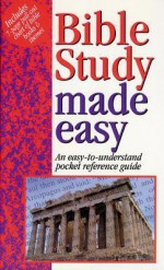 Bible Study Made Easy (Bible Made Easy) - Mark Water