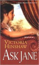Ask Jane - Victoria Hinshaw
