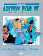 Listen for It: A Task-Based Listening Course - Jack C. Richards, Andrew Harper, Deborah Gordon