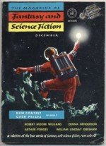 The Magazine of Fantasy and Science Fiction, December 1953 - Anthony Boucher, J. Francis McComas, G. Gordon Dewey, Max Dancey, Peter Grainger, Zenna Henderson, Esther Carlson, Winona McClintic, Robert Moore Williams, Jerome Barry, Guy DeAngelis, H. Nearing Jr., William Lindsay Gresham, Arthur Porges