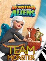 Monsters vs. Aliens: Team Monster (I Can Read Book 2) - Gail Herman, MADA Design