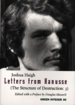 Letters from Hanusse - Joshua Haigh, Douglas Messerli