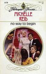 No Way to Begin - Michelle Reid