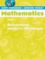 Scott Foresman Math 2004 Reteaching Masters/Workbook Grade 6 - Scott Foresman
