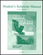 Student's Solutions Manual to Accompany College Algebra - Fred Safier, Michael R. Ziegler, Karl E. Byleen