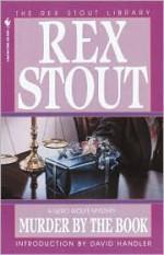 Murder by the Book - Rex Stout, David Handler