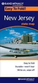 Rand McNally Easy To Fold: New Jersey (Laminated) - Rand McNally