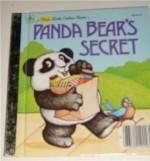 Panda Bear's Secret (First Little Golden Book) - Michaela Muntean, Christopher Santoro