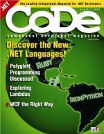 CODE Magazine - 2008 Sep/Oct - Julia Lerman, Mark Blomsma, Harry Pierson, Ted Neward, Brad Wilson, Sahil Malik, Neal Ford, Rod Paddock, Chris Williams, CODE Magazine