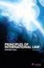 Principles of International Law - Stephen Hall