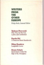 Writers From the Other Europe (4 Volume Set) - Philip Roth, Milan Kundera, Bruno Schulz, Tadeusz Borowski, Daniol Kis, Joseph Brodsky, John Updike, Jan Kott