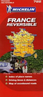 Michelin France Reversible Map - Michelin Travel Publications