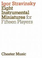 Eight Instrumental Miniatures - Igor Stravinsky