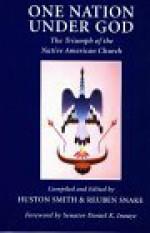 One Nation Under God: The Triumph of the Native American Church - Huston Smith, Daniel K. Inouye