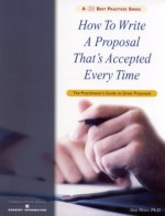 How To Write A Proposal That's Accepted Every Time - Alan Weiss