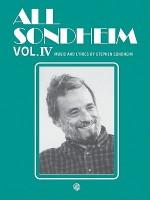 All Sondheim, Volume 4 - Stephen Sondheim