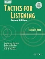 Basic Tactics for Listening Teacher's Book - Sue Brioux Aldcorn, Deborah Gordon, Andrew Harper, Jack C. Richards