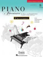 Level 3A - Christmas Book: Piano Adventures - Nancy Faber, Randall Faber