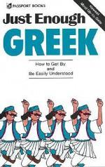 Just Enough Greek - Passport Books