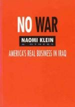 No War - Naomi Klein