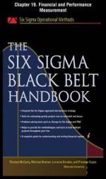 The Six SIGMA Black Belt Handbook, Chapter 19 - Financial and Performance Measurement - Thomas McCarty, Kathleen Mills, Michael Bremer, John Heisey, Praveen Gupta, Lorraine Daniels