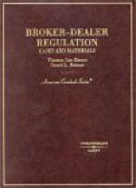Hazen's Broker Dealer Regulation: Cases & Materials (American Casebook Series®) (American Casebook Series) - Thomas Lee Hazen, David L. Ratner