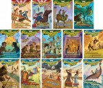 Imagination Station Series - Adventures in Odyssey - Set of 14 - Volumes #1-14 Including Captured on the High Seas, the Redcoats Are Coming, Danger on a Silent Night, Hunt for the Devil's Dragon, Challenge on the Hill of Fire and More - Paul McCusker, Marianne Hering, Nancy I. Sanders