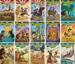 Imagination Station Series - Adventures in Odyssey - Set of 15 - Volumes #1-15 Including Surprise at Yorktown, Captured on the High Seas, the Redcoats Are Coming, Danger on a Silent Night, Hunt for the Devil's Dragon, and More - Paul McCusker