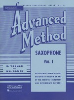 Rubank Advanced Method - Saxophone Vol. 1 (Rubank Educational Library) - H. Voxman, William Gowe