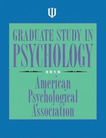 Graduate Study in Psychology 2010 - American Psychological Association