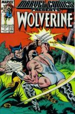Marvel Comics Presents #4 : Wolverine, Man-Thing, Master of Kung Fu, & The Mighty Thor (Marvel Comic Book 1988) - Chris Claremont, Doug Moench, Steve Gerber, Al Milgrom, Al Milgrom, John Buscema, Tom Grindberg, Tom Sutton