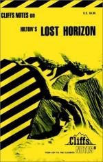 Cliffsnotes on Hilton's Lost Horizon - Dale Garfan Hayes, James Hilton, CliffsNotes
