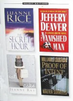Condensed Books: Proof of Intent; Eat Cake; The Vanished Man; The Secret Hour - Jeffery Deaver, Luanne Rice, Reader's Digest Association, Jeanne Ray, William J. Coughlin, Walter Sorrells