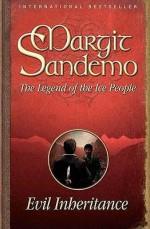 Evil Inheritance (Legend of the Ice People, #6) - Margit Sandemo