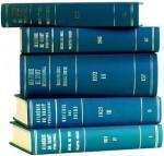 Recueil Des Cours, Collected Courses, Tome/Volume 41 (1932) - Academie de Droit International de la Haye