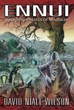 Ennui and Other Tales of Madness - David Niall Wilson, Cover art by Don Paresi
