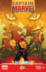 Captain Marvel #13 - Kelly Sue DeConnick, Scott Hepburn, Gerardo Sandoval, Jordie Bellaire, Andy Troy, Joe Quinones