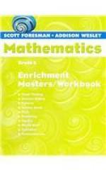 Scott Foresman Math 2004 Enrichment Masters/Workbook Grade 5 - Scott Foresman