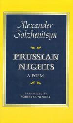 Prussian Nights: A Poem - Aleksandr Solzhenitsyn, Robert Conquest
